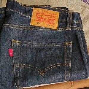 Like New Levi's Mens 502 Jeans 34 x 30